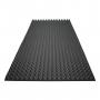 Купить акустический поролон ecosound пирамида 70мм 2мх1м цвет черный графит по низкой цене
