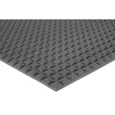 Акустический поролон Ecosound пирамида 15мм 1м х 1м Цвет черный графит