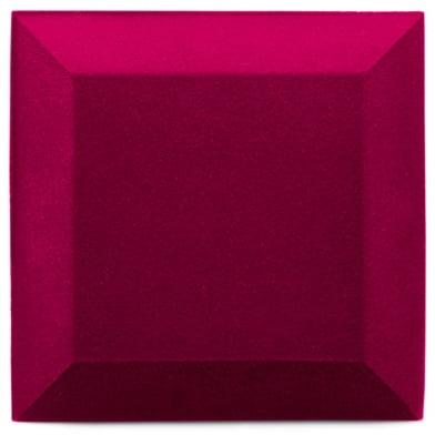 Купить бархатная акустическая панель из акустического поролона ecosound velvet pink 25х25см 50мм. цвет розовый по низкой цене