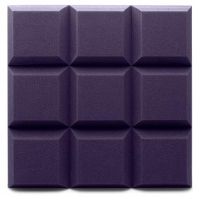 Купить панель из акустического поролона ecosound grid цвет черный графит  по низкой цене