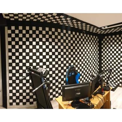 Купить панель из акустического поролона ecosound tetras grey 100x200см, 70мм, цвет серый по низкой цене
