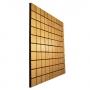 Акустическая панель Ecosound Tetras Wood Cream 100x100см 30мм цвет светлый дуб
