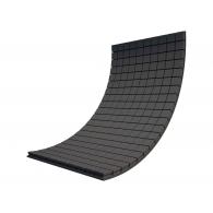 Панель из акустического поролона Ecosound Tetras Black 100x200см, 20мм, цвет чёрный графит