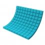 Купить панель из акустического поролона ecosound tetras color толщиной 70 мм, размером 100х100 см, синего цвета по низкой цене