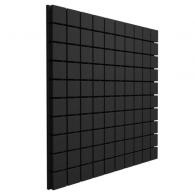 Панель из акустического поролона Ecosound Tetras Black 100x100см, 100мм, цвет чёрный графит