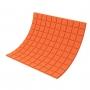 Купить панель из акустического поролона ecosound tetras color толщиной 20 мм, размером 100х100 см, оранжевого цвета по низкой цене