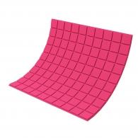 Панель из акустического поролона Ecosound Tetras Color толщиной 20 мм, размером 100х100 см, розового цвета