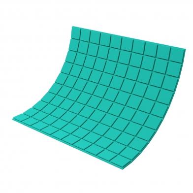 Купить панель из акустического поролона ecosound tetras color толщиной 20 мм, размером 100х100 см, зеленого цвета по низкой цене