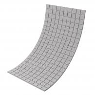 Панель из акустического поролона Ecosound Tetras Grey 100x200см, 20мм, цвет серый