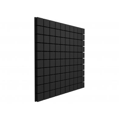 Купить панель из акустического поролона ecosound tetras black 100x200см, 70мм, цвет чёрный графит по низкой цене