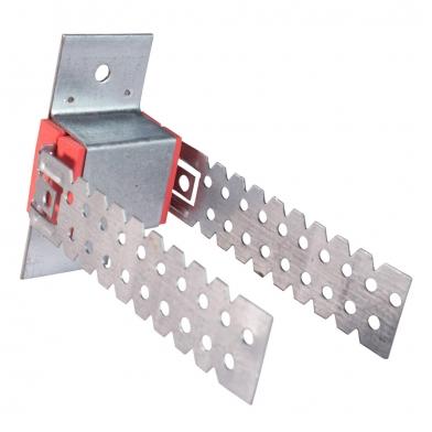 Купить антивибрационные  крепления для звукоизоляции стен и потолка ecosound-vibronet pp-35 по низкой цене