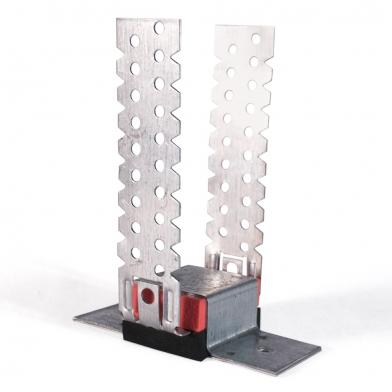 Антивибрационные  крепления для звукоизоляции стен и потолка Ecosound-VibroNet MP-30