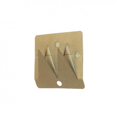 Купить крепеж для акустического поролона, акустических панелей и басовых ловушек ecosound foam clip 5x5 по низкой цене