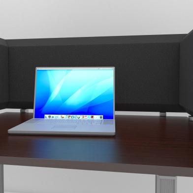 Купить настольная акустическая ширма для офисных столов и колл центров desktop acoustic screen color u-type по низкой цене