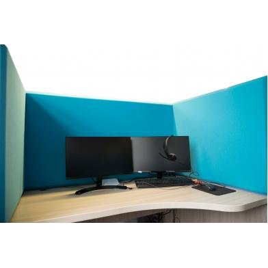Купить акустическая ширма для офисных столов ecosound quadro screen multicolor 100х50 см 50мм по низкой цене