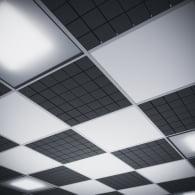 Акустическая плита для подвесных потолочных систем типа Армстронг Ecosound Tetras Armstrong 50мм 0,6м х 0,6м.