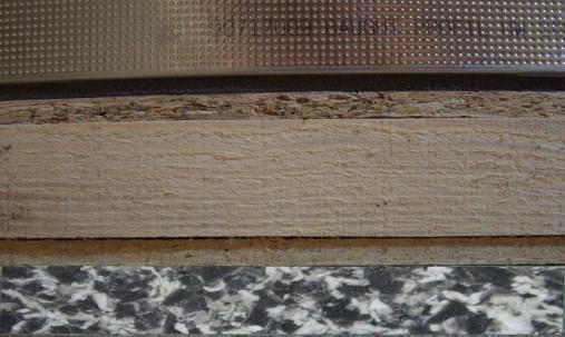 Пример применения Мембрана акустическая Black Flex 10 мм 1мх1м армированная