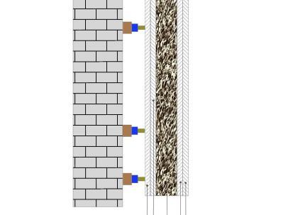 Пример применения Мембрана акустическая White Flex 10 мм 1мх1м армированная