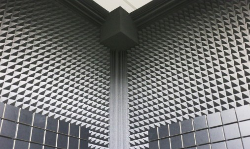 'Пример применения '.Бас ловушка Ecosound Пила угловая длина 1м ширина 25 см Цвет черный графит