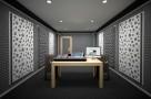 Визуализация проекта с использованием .Подставки под акустическую аппаратуру Ecosound Professional Wood 112х50см цвет светлый дуб. Превью