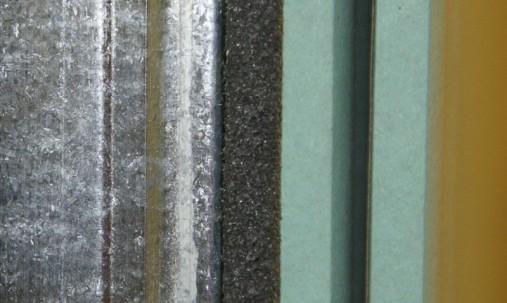 'Пример применения '.Акустическая плита Ecosound Macsound Prof волна 1мХ1мХ30мм-цвет графитно-черный
