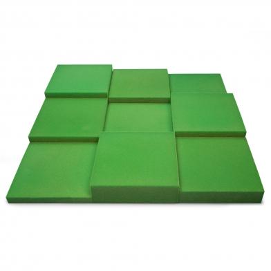 Купить панель из акустического поролона ecosound pattern velvet 60мм, 60х60см цвет зеленый по низкой цене