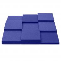 Панель из акустического поролона Ecosound Pattern Velvet 60мм, 60х60см цвет синий