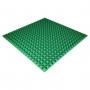 Панель из акустического поролона Ecosound Pyramid Color толщиной 25 мм, размером 100х100 см, зеленого цвета