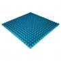 Панель из акустического поролона Ecosound Pyramid Color толщиной 50 мм, размером 100х100 см, синего цвета