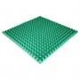 Панель из акустического поролона Ecosound Pyramid Color толщиной 50 мм, размером 100х100 см, зеленого цвета
