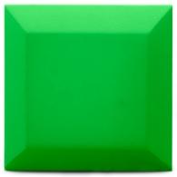 Бархатная акустическая панель из акустического поролона Ecosound Velvet Pistacho 25х25см 50мм. Цвет фисташковый