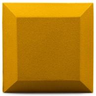 Бархатная акустическая панель из акустического поролона Ecosound Velvet Gold 25х25см 50мм. Цвет золотой