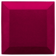 Бархатная акустическая панель из акустического поролона Ecosound Velvet Pink 25х25см 50мм. Цвет розовый
