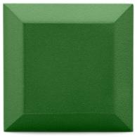 Бархатная акустическая панель из акустического поролона Ecosound Velvet Olive 25х25см 50мм. Цвет оливковый