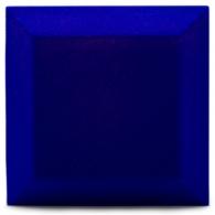 Бархатная акустическая панель из акустического поролона Ecosound Velvet Electric blue 25х25см 50мм. Цвет темно-синий