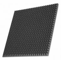 Шумоизоляция автомобиля  Off-Sound Pyramid s 30мм, 50х50см цвет черный графит