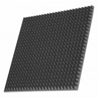 Купить шумоизоляция автомобиля  off-sound pyramid s 30мм, 50х50см цвет черный графит по низкой цене
