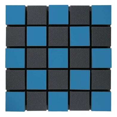 Купить акустическая панель ecosound tetras acoustic wood blue 50x50см 73мм цвет синий по низкой цене