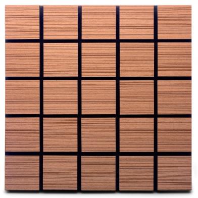 Купить акустическая панель ecosound tetras rosewood 50x50см 33мм цвет коричневый по низкой цене