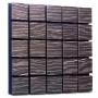 Купить акустическая панель ecosound tetras wood ebony&ivory 50x50см 73мм цвет черно-белый по низкой цене