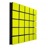 Акустическая панель Ecosound Tetras Wood Yellow 50x50см 53мм цвет жёлтый