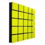 Купить акустическая панель ecosound tetras wood yellow 50x50см 53мм цвет жёлтый по низкой цене