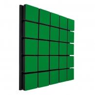 Акустическая панель Ecosound Tetras Wood Green 50x50см 33мм цвет зелёный