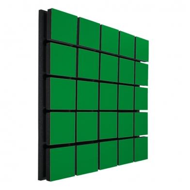 Купить акустическая панель ecosound tetras wood green 50x50см 33мм цвет зелёный по низкой цене