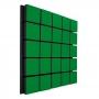 Купить акустическая панель ecosound tetras wood green 50x50см 73мм цвет зелёный по низкой цене