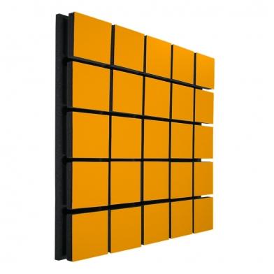 Купить акустическая панель ecosound tetras wood orange 50x50см 73мм цвет оранжевый по низкой цене
