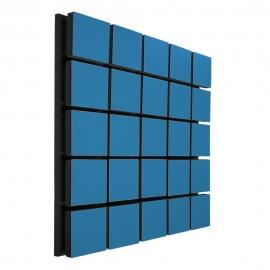 Акустическая панель Ecosound Tetras Wood Blue 50x50см 53мм цвет синий