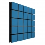 Купить акустическая панель ecosound tetras wood blue 50x50см 53мм цвет синий по низкой цене