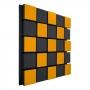 Купить акустическая панель ecosound tetras acoustic wood orange 50x50см 73мм цвет оранжевый по низкой цене