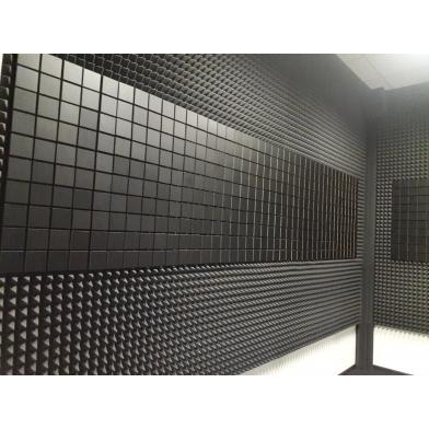 Купить панель из акустического поролона ecosound tetras gray 100x100см, 30мм, цвет серый по низкой цене